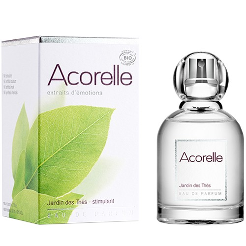 Produits Bio Eau de parfum Jardin des Thés - Stimulant