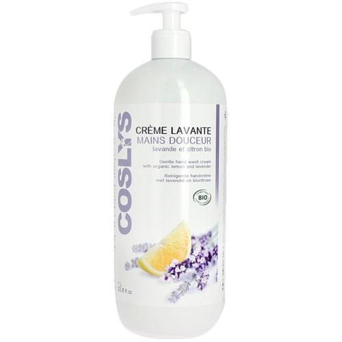 Produits Bio Crème lavante mains Lavande Citron