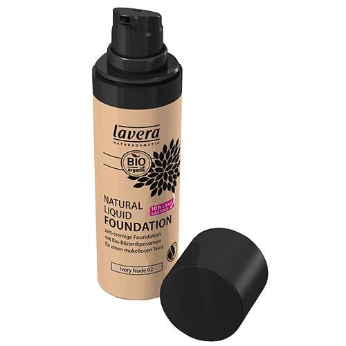 Produits Bio Fond de teint liquide naturel - Ivory Light 01