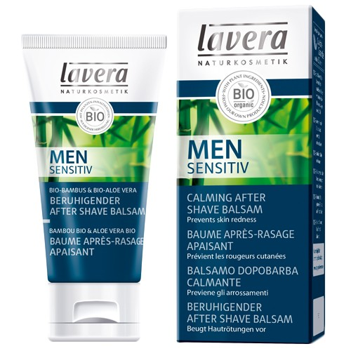 Produits Bio Men Sensitiv Baume après-rasage apaisant