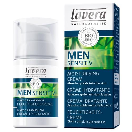 Produits Bio Men Sensitiv Crème hydratante