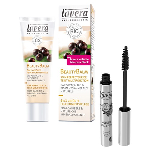 Produits Bio Offre Beauty Blam et Mascara Volume