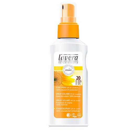 Produits Bio Spray solaire FPS 20