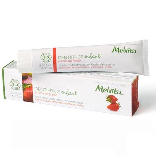 Produits Bio Dentifrice pour Enfant arôme fraise