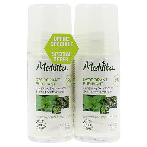 Produits Bio Duo déodorant Purifiant Efficacité 24h