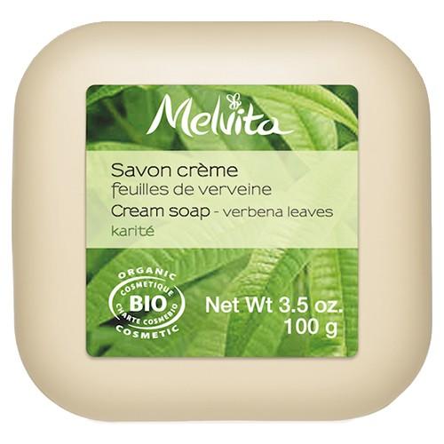 Produits Bio Savon crème feuilles de verveine