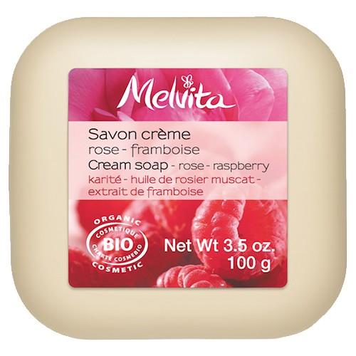 Produits Bio Savon crème rose - framboise